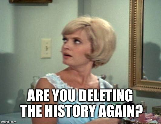 ARE YOU DELETING THE HISTORY AGAIN? | made w/ Imgflip meme maker
