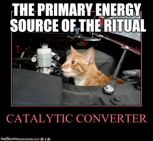THE PRIMARY ENERGY SOURCE OF THE RITUAL | made w/ Imgflip meme maker
