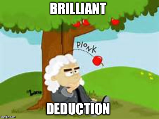 BRILLIANT DEDUCTION | made w/ Imgflip meme maker