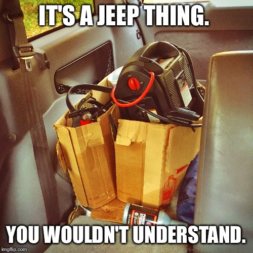 1dhmcp it's a jeep thing imgflip