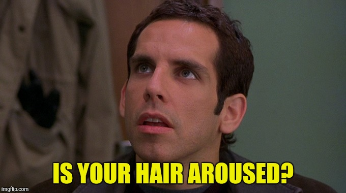 IS YOUR HAIR AROUSED? | made w/ Imgflip meme maker