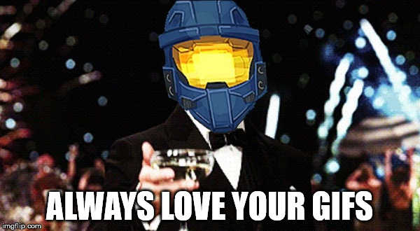 Cheers Ghost | ALWAYS LOVE YOUR GIFS | image tagged in cheers ghost | made w/ Imgflip meme maker