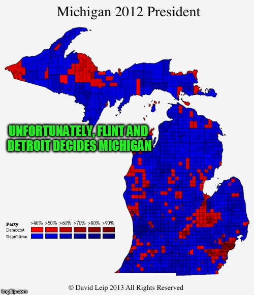 UNFORTUNATELY, FLINT AND DETROIT DECIDES MICHIGAN | made w/ Imgflip meme maker