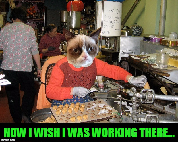 NOW I WISH I WAS WORKING THERE... | made w/ Imgflip meme maker