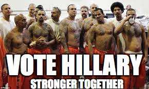 STRONGER TOGETHER VOTE HILLARY | made w/ Imgflip meme maker