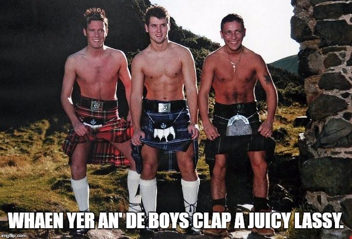 Scottish Kilt Guys Template By Ghostofchurch Imgflip