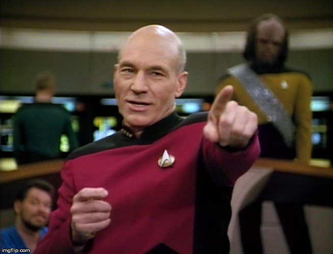 Picard You Da Man | K | image tagged in picard you da man | made w/ Imgflip meme maker