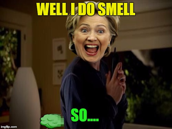 WELL I DO SMELL SO.... | made w/ Imgflip meme maker