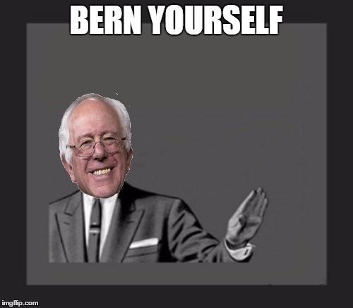 BERN YOURSELF | made w/ Imgflip meme maker