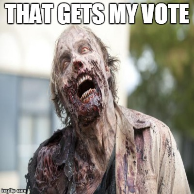 THAT GETS MY VOTE | made w/ Imgflip meme maker