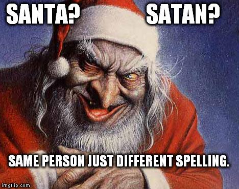 Evil Santa - Imgflip
