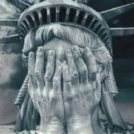 sad lady liberty blank template imgflip