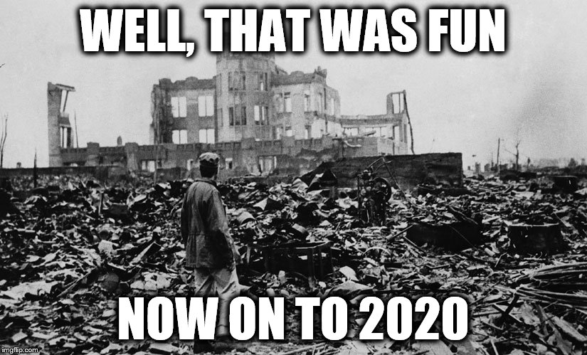 It's time to put it all back together again, no matter what side you were on, accept the results with humility and hope.  | WELL, THAT WAS FUN NOW ON TO 2020 | image tagged in memes,election | made w/ Imgflip meme maker