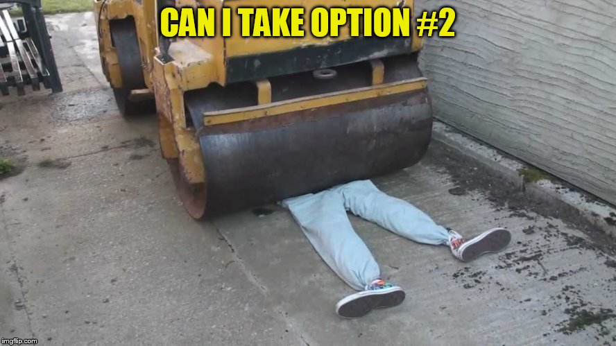 CAN I TAKE OPTION #2 | made w/ Imgflip meme maker