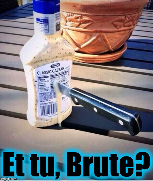 Just like Socrates, I too, love the Classics! | Et tu, Brute? | image tagged in classic cesar,memes,evilmandoevil,funny | made w/ Imgflip meme maker