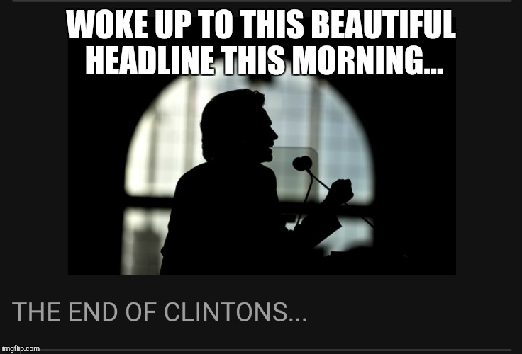 WOKE UP TO THIS BEAUTIFUL HEADLINE THIS MORNING... | made w/ Imgflip meme maker