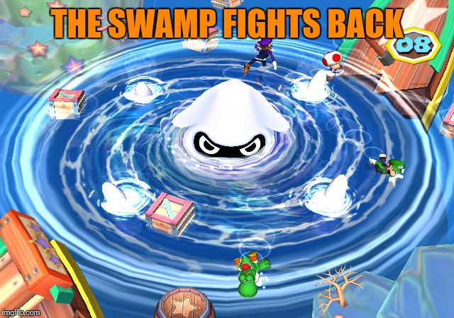 THE SWAMP FIGHTS BACK | made w/ Imgflip meme maker