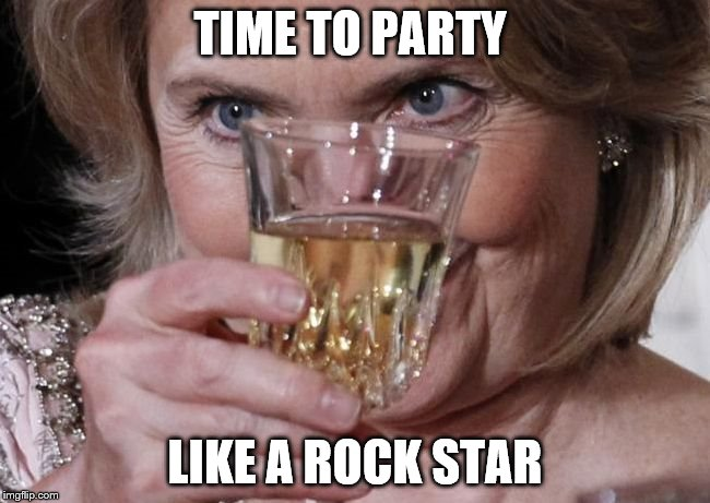 TIME TO PARTY LIKE A ROCK STAR | made w/ Imgflip meme maker