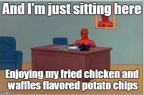 Demotivational Fried Chicken: Fried Chicken Is Amazing