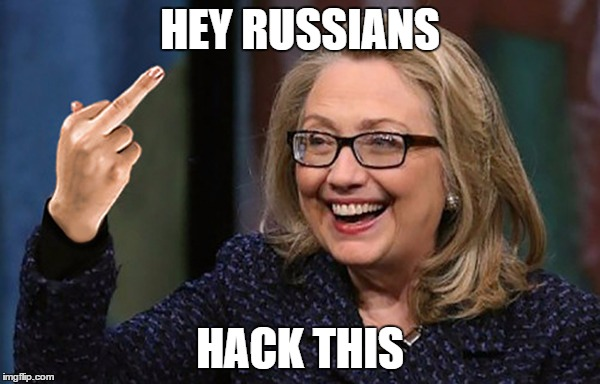 HEY RUSSIANS; HACK THIS | made w/ Imgflip meme maker