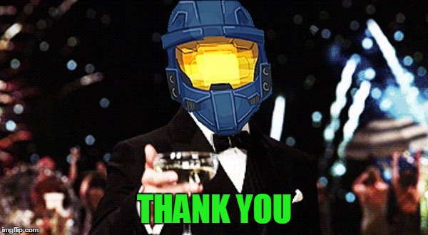 Cheers Ghost | THANK YOU | image tagged in cheers ghost | made w/ Imgflip meme maker
