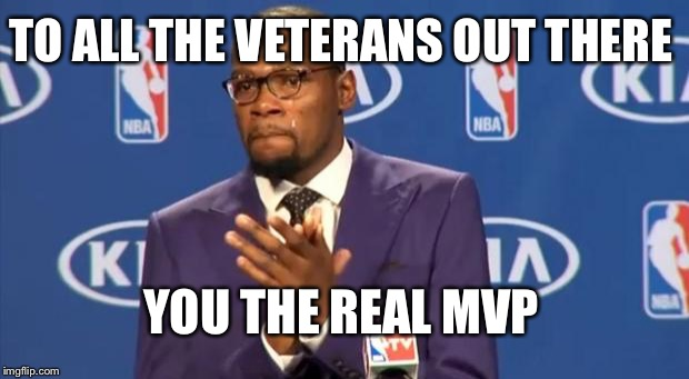 Happy Veterans Day | TO ALL THE VETERANS OUT THERE YOU THE REAL MVP | image tagged in memes,you the real mvp | made w/ Imgflip meme maker