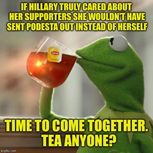 """A house divided will fall"". This hatefulness has got to stop. 