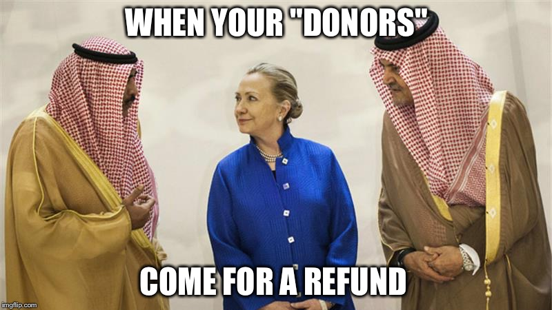 "What happens when they 'Pay to Play' but Don't Get to Play...broken legs? |  WHEN YOUR ""DONORS""; COME FOR A REFUND 
