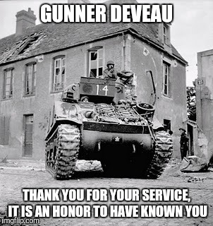 GUNNER DEVEAU THANK YOU FOR YOUR SERVICE, IT IS AN HONOR TO HAVE KNOWN YOU | image tagged in normandy | made w/ Imgflip meme maker