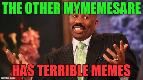 Steve Harvey Meme | THE OTHER MYMEMESARE HAS TERRIBLE MEMES | image tagged in memes,steve harvey | made w/ Imgflip meme maker
