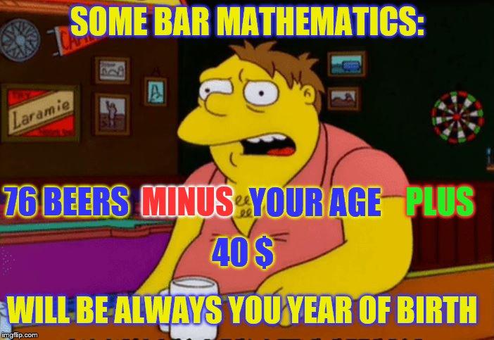1e3lxz barney gumble bar imgflip,Barney Meme Generator