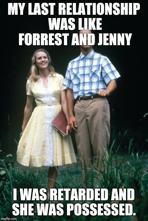 forrest and jenny relationship