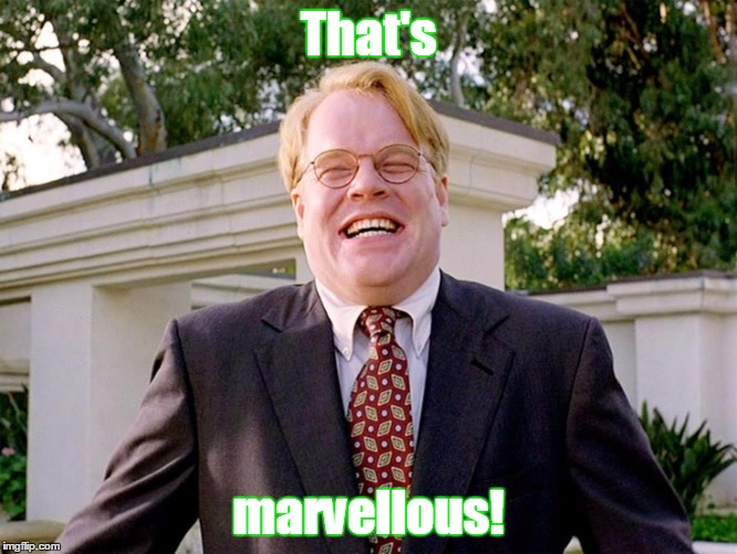 lebowski brandt | That's marvellous! | image tagged in lebowski brandt | made w/ Imgflip meme maker