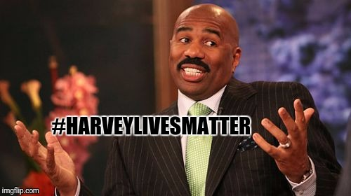 Steve Harvey Meme | #HARVEYLIVESMATTER | image tagged in memes,steve harvey | made w/ Imgflip meme maker