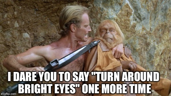 "Total Eclipse Of The Planet Of The Apes | I DARE YOU TO SAY ""TURN AROUND BRIGHT EYES"" ONE MORE TIME 