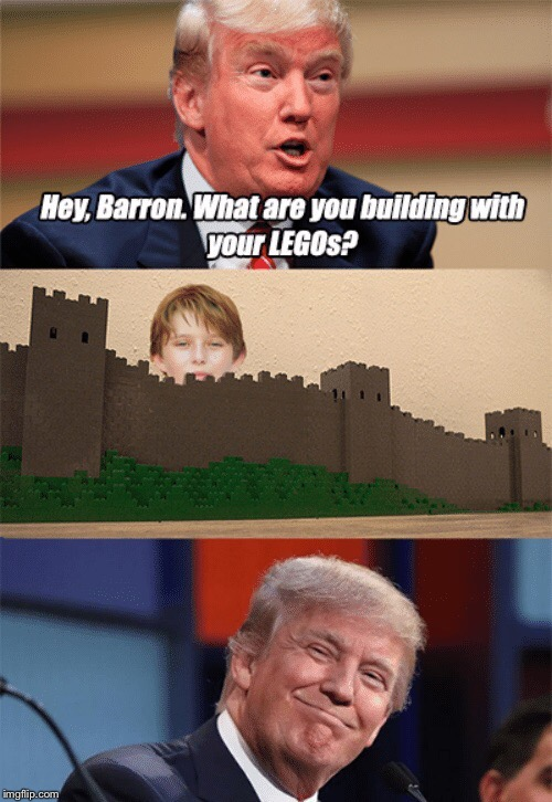 ImgFlip needs more Barron memes | H | image tagged in memes,donald trump,funny | made w/ Imgflip meme maker