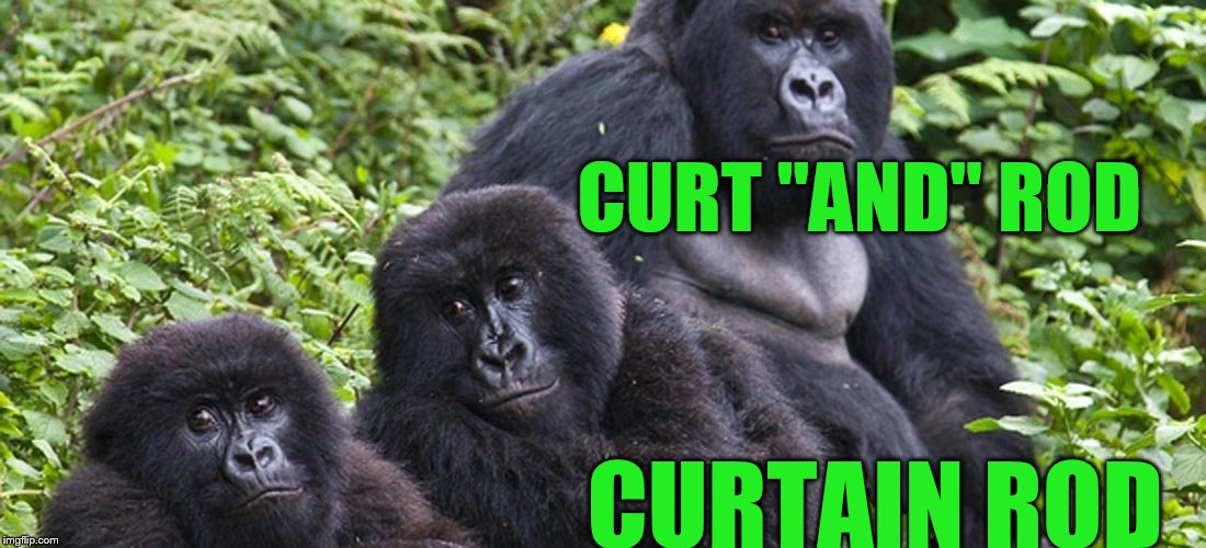 "CURT ""AND"" ROD CURTAIN ROD 