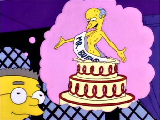 Happy Birthday Mr Smithers