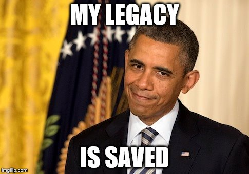 MY LEGACY IS SAVED | made w/ Imgflip meme maker