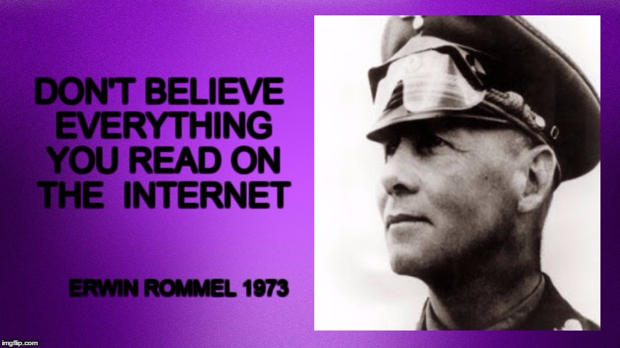 Rommal | image tagged in rommel,the internet,i can't believe it | made w/ Imgflip meme maker