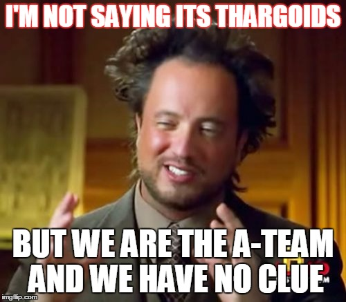 I M Not Saying It Was Aliens By Disfordelirium On: Ancient Aliens Meme