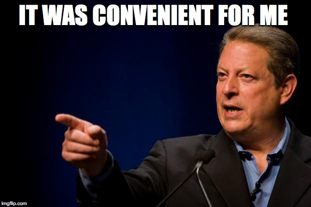 IT WAS CONVENIENT FOR ME | made w/ Imgflip meme maker