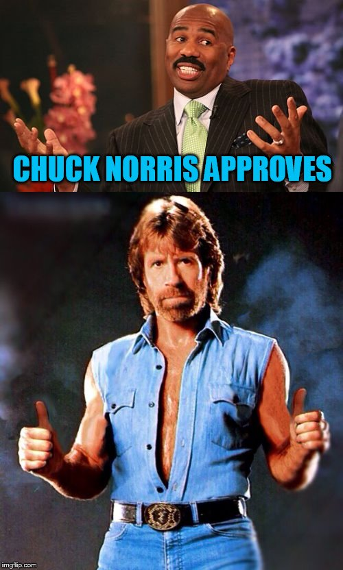 CHUCK NORRIS APPROVES | made w/ Imgflip meme maker