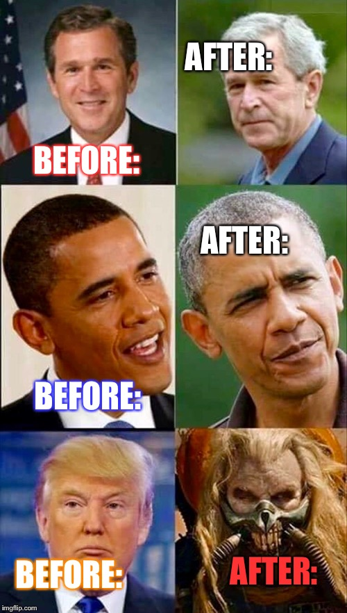 "Warning: Being President May Cause Certain ""Side Effects..."" 