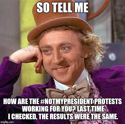 "This is what happens when the ""everyones a winner"" generation grows up... 