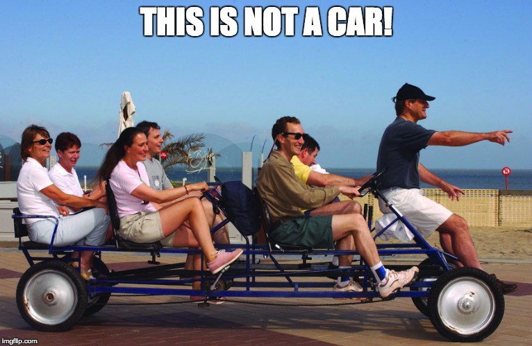 THIS IS NOT A CAR! | made w/ Imgflip meme maker