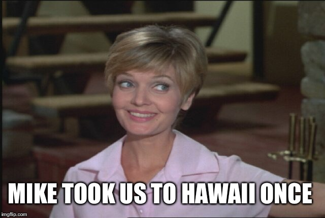 MIKE TOOK US TO HAWAII ONCE | made w/ Imgflip meme maker