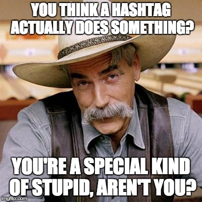 """Awareness"" ... doesn't change anything either. 