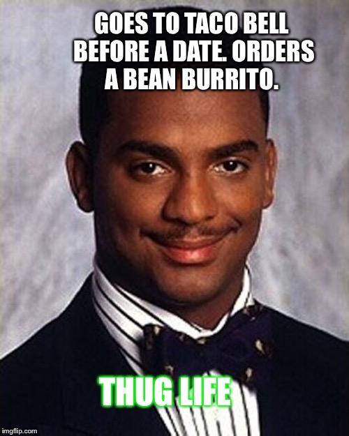 Carlton Banks Thug Life Imgflip