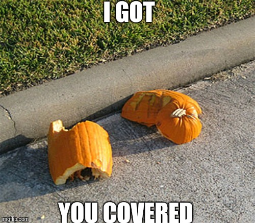 I GOT YOU COVERED | made w/ Imgflip meme maker